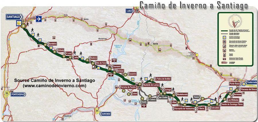 Camino de Invierno a Santiago