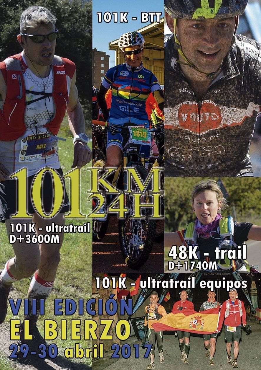 101 KM PEREGRINOS - Cartel VIII Edición 2017