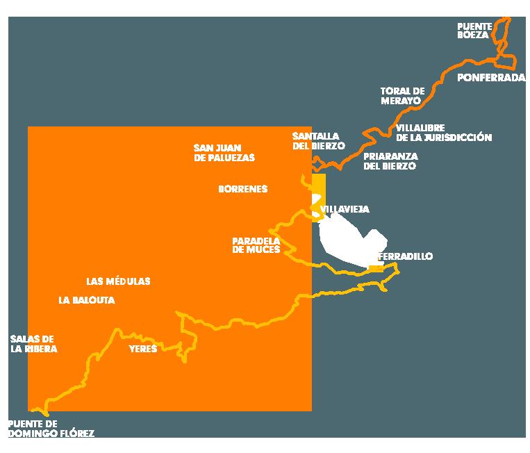 101 KM PEREGRINOS: Mapa de carrera
