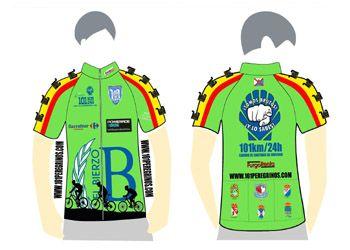 Maillot Ciclismo.  101 Km Peregrinos - Edición 2015