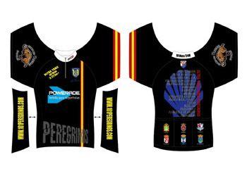 Camiseta técnica 2016.  101 Km Peregrinos - Edición 2016