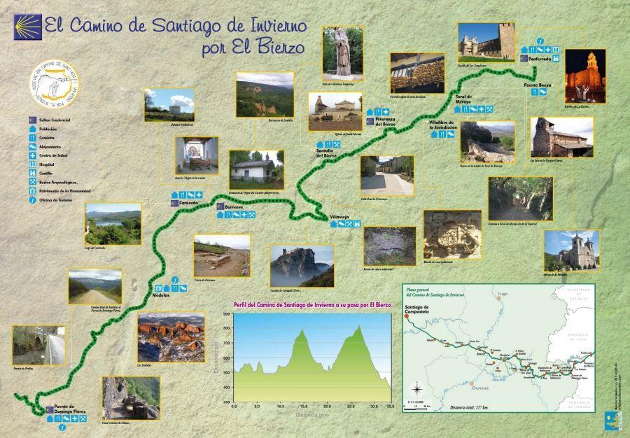 """Guía """"El Camino de Santiago de Invierno por El Bierzo"""""""