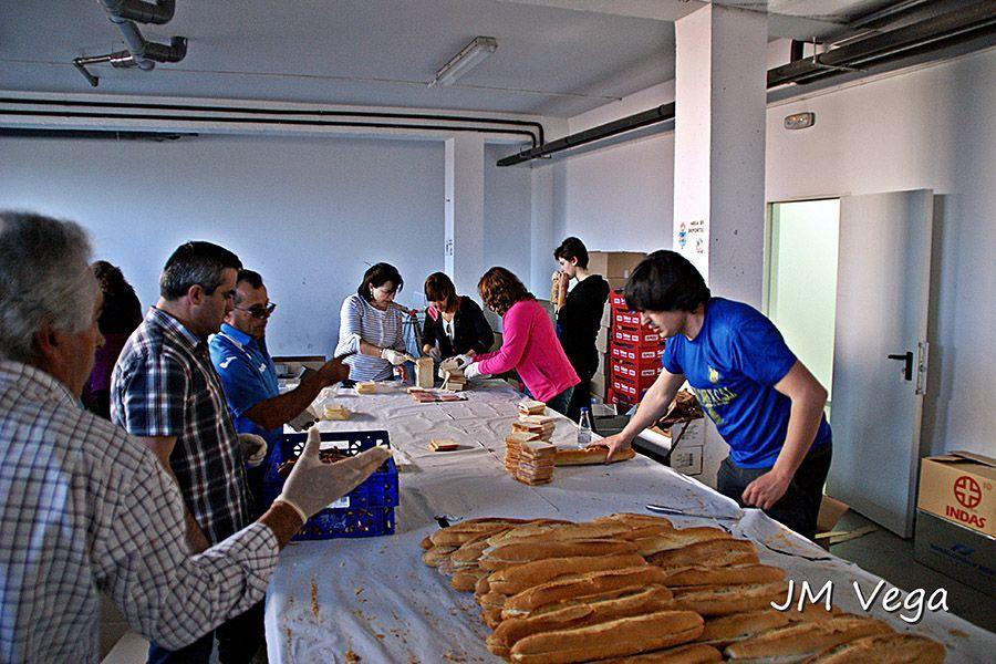 Voluntarios 101 Km Peregrinos